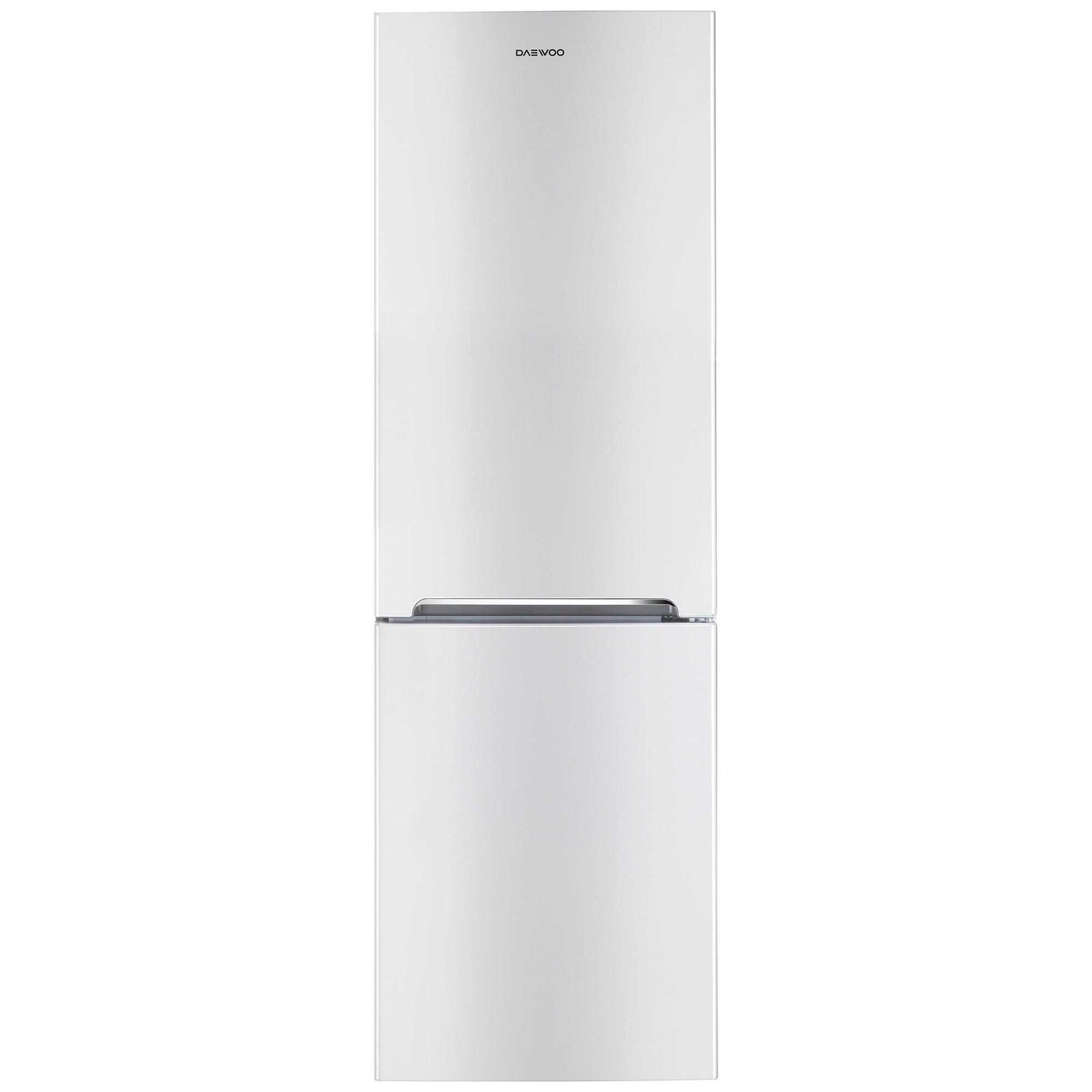 Fotografie Combina frigorifica Daewoo RN-309RDQW, 305 l, Clasa A+, Full No Frost, Iluminare LED, H 187 cm, Alb