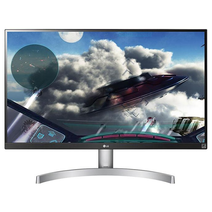 "Fotografie Monitor LED IPS LG 27"", 4K UHD, Display Port, FreeSync, Alb"