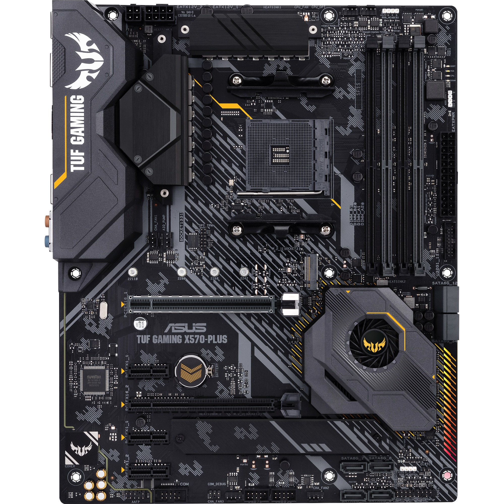 Fotografie Placa de baza ASUS TUF GAMING X570-PLUS, Socket AM4