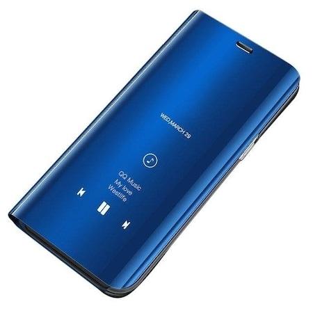 Калъф FENiX®Clear View Flip Wallet Cover за Xiaomi Mi CC9e / Xiaomi Mi A3, Син + GSM BORSA Химикал