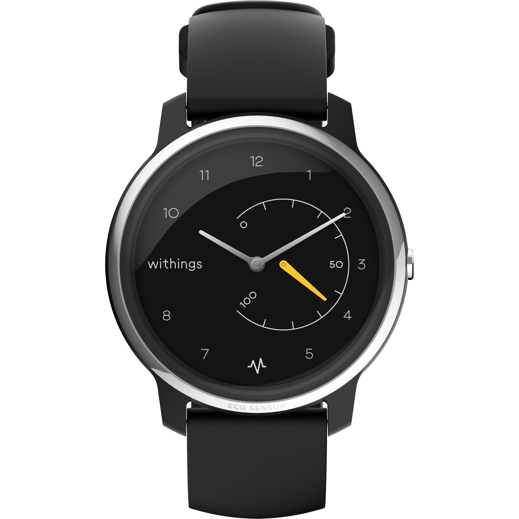 Fotografie Ceas smartwatch Withings Move ECG, Negru