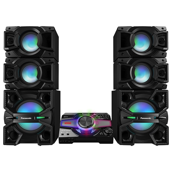 Fotografie Sistem audio High Power Panasonic SC-MAX7000E-K, 3000W RMS, Bluetooth, Wi-Fi, NFC