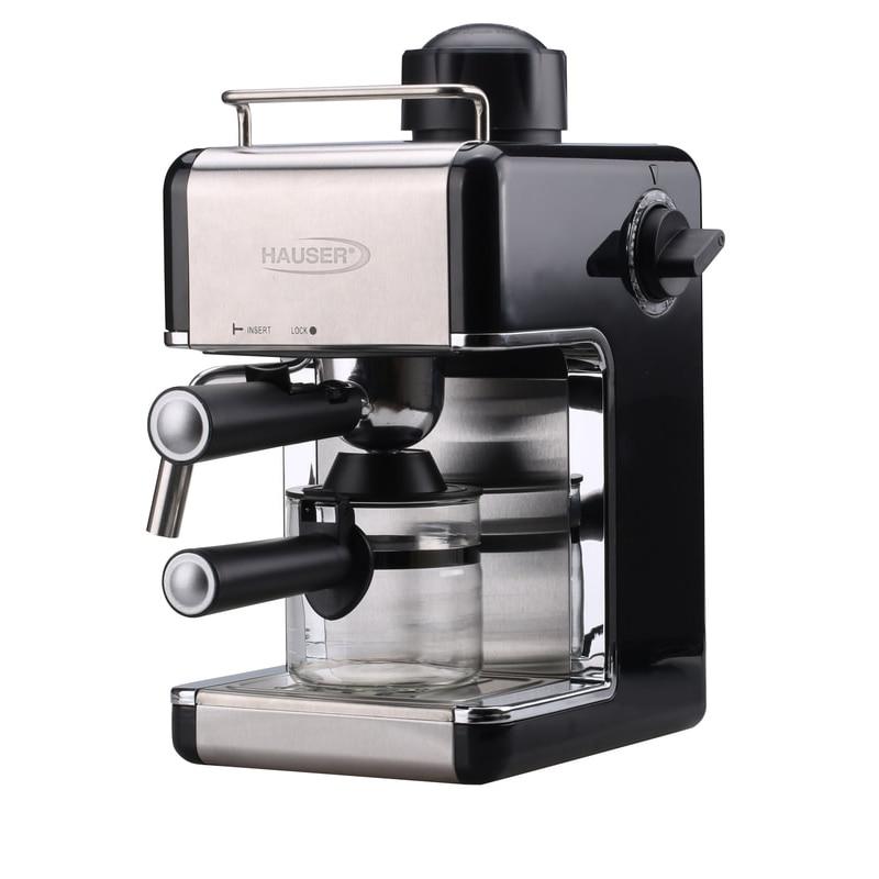 Hauser CE 923 eszpresszó kávé és cappuccino készítés