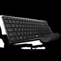 RAPOO 9300M Bluetooth vezeték nélküli billentyűzet + egér szett, magyar kiosztás