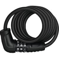 Заключващо устройство за велосипед ABUS 4508C/150/8 BK STAR + SCMU със скоба за захващане, тип кабел с код,черен