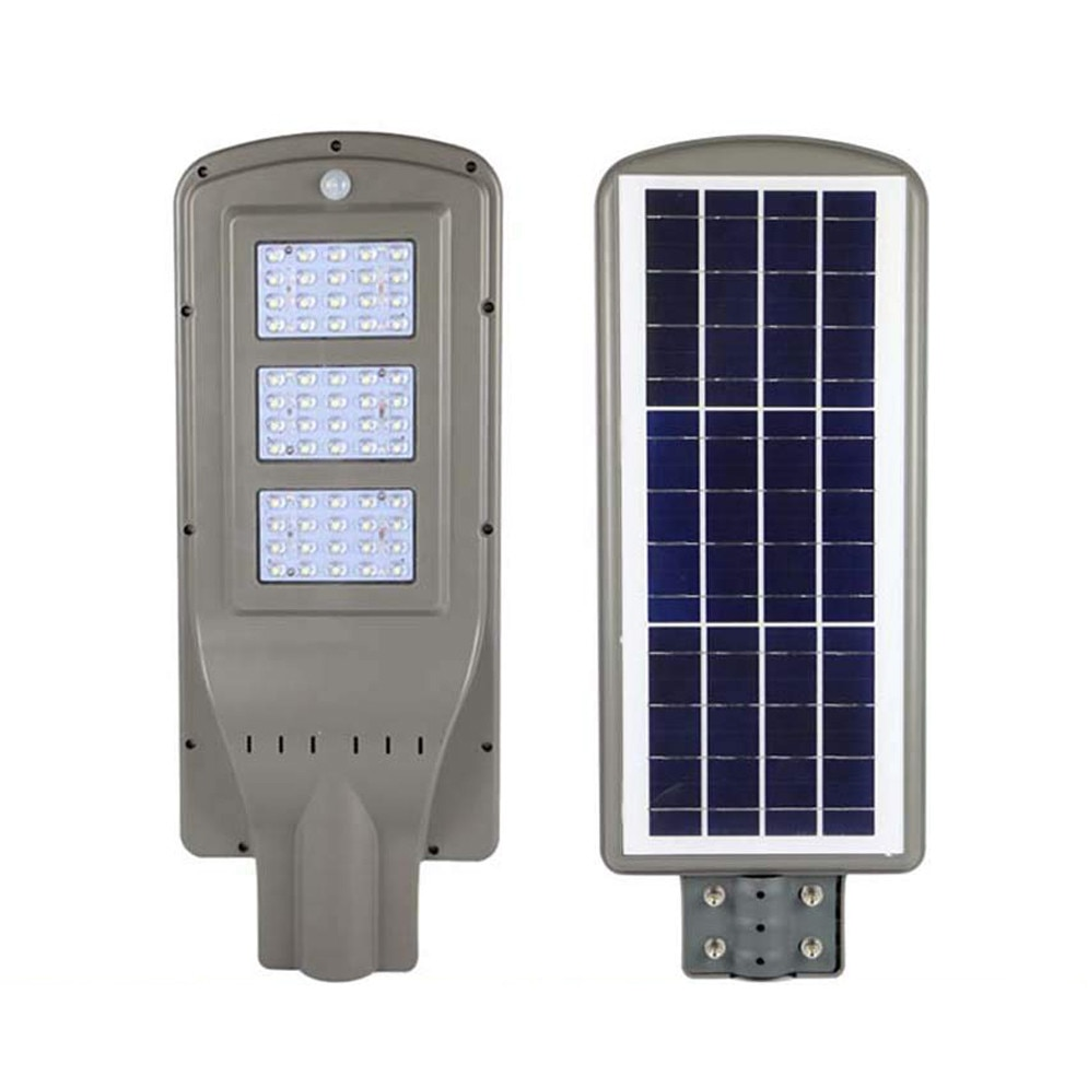 Corp Iluminat Stradal Solar Cu Senzor 60w 60leduri Lumina Rece De Exterior Emag Ro