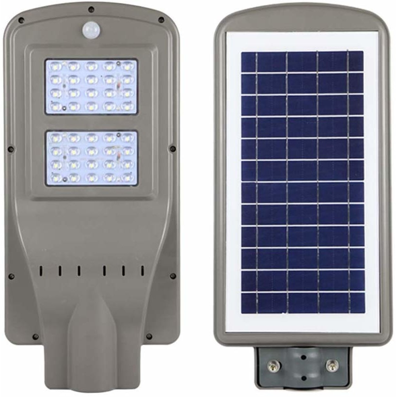 Corp Iluminat Stradal Solar Cu Senzor 40w 40leduri Lumina Rece De Exterior Emag Ro