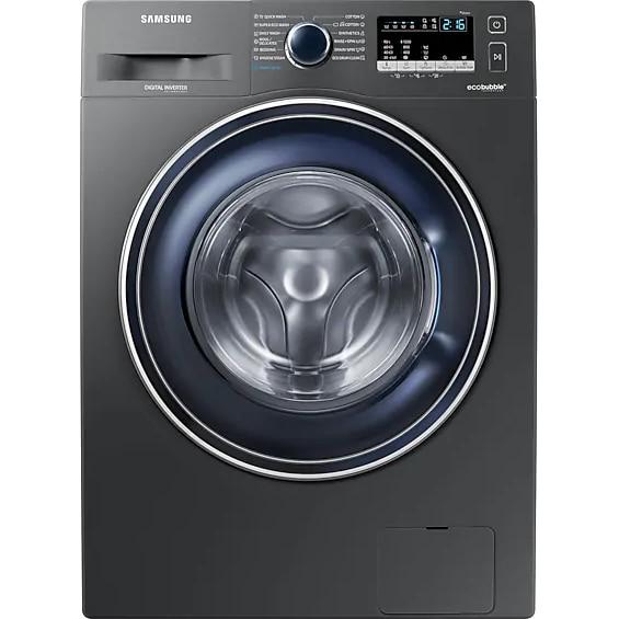 Fotografie Masina de spalat rufe Slim Samsung WW80R421HFX/LE, 1200 RPM, 8 kg, Clasa A+++, Inox