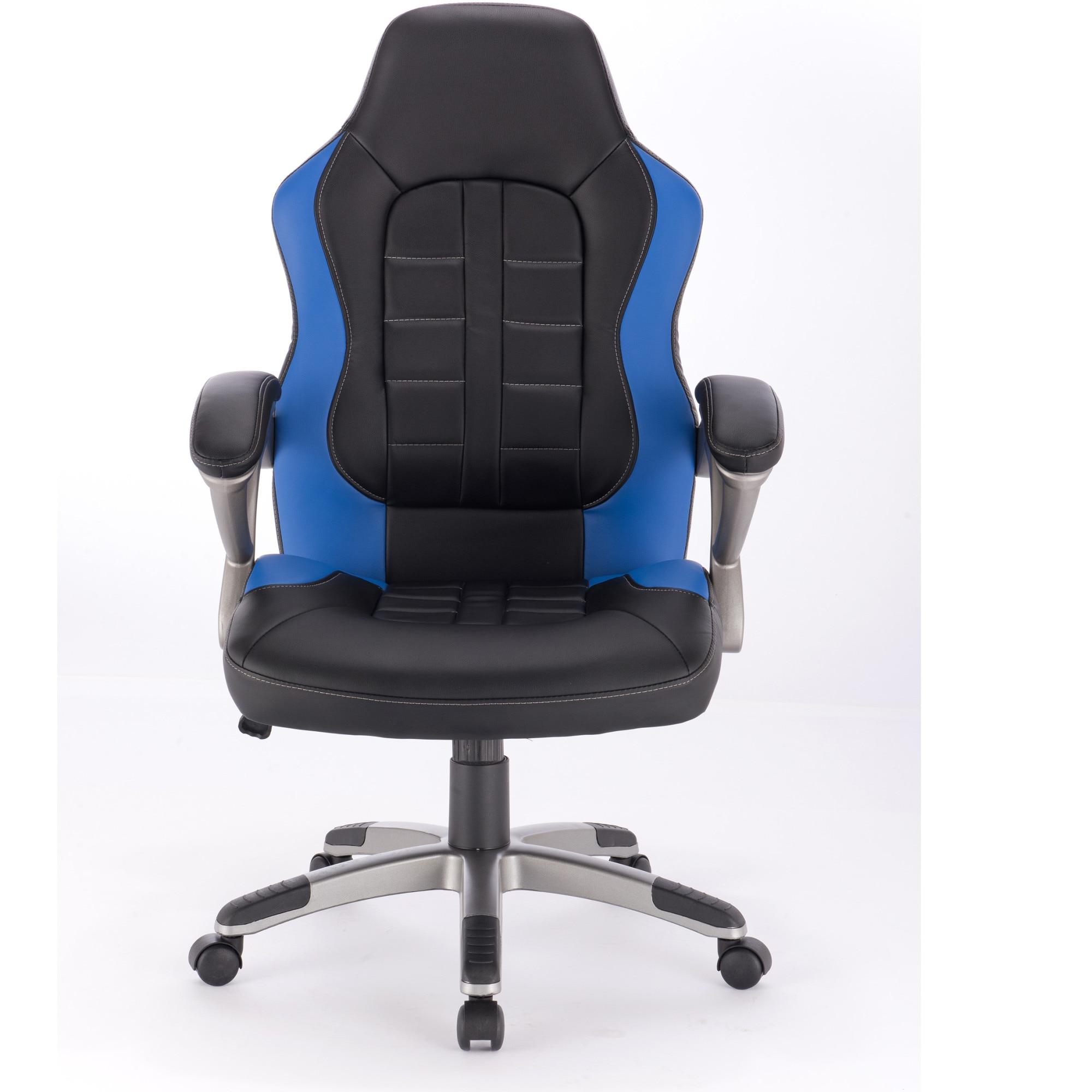 Kring Noah Ergonómikus irodai szék, PU, FeketeKék eMAG.hu