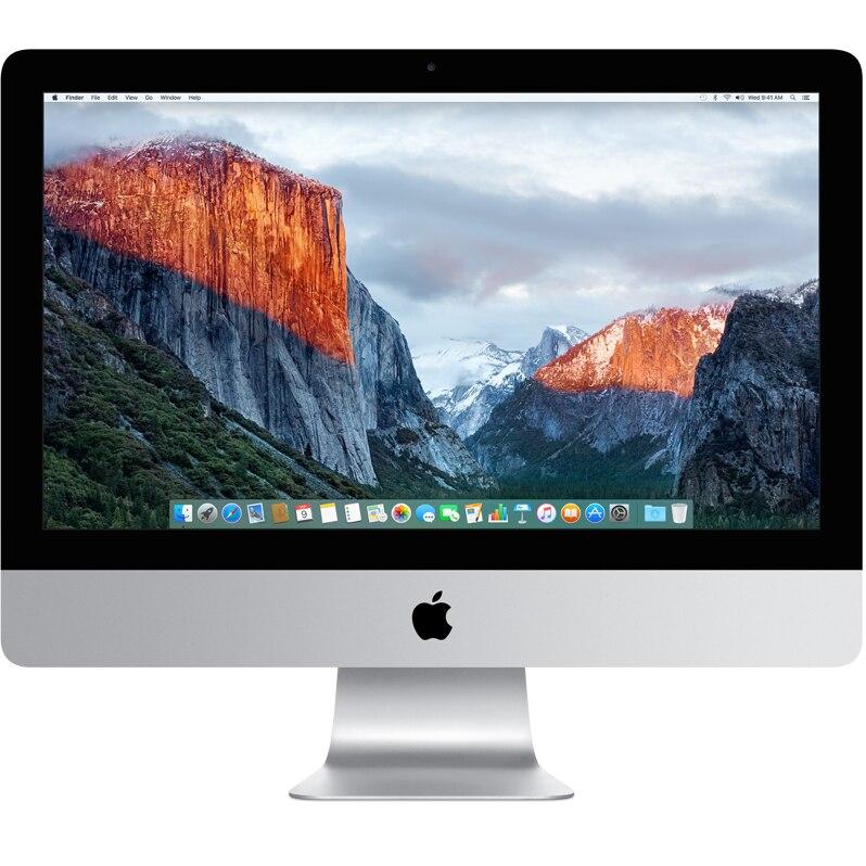 "Fotografie Sistem Desktop PC iMac 21.5"" cu procesor Intel® Dual Core™ i5 2.30GHz, 21.5"", Full HD, 8GB, 1TB, Intel HD Graphics 640, macOS Sierra, INT KB"