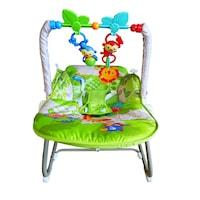 Balansoar pentru bebelusi, cu muzica, Verde