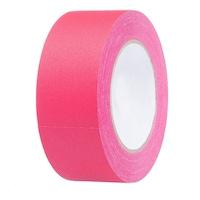 ProCart® ragasztószalag, rózsaszín, textil, neon fluoreszkáló, tekercs 25 m, 2,5 cm széles, vízálló