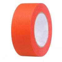 ProCart® ragasztószalag, narancssárga, textil, neon fluoreszkáló, tekercs 25 m, 2,5 cm széles, vízálló