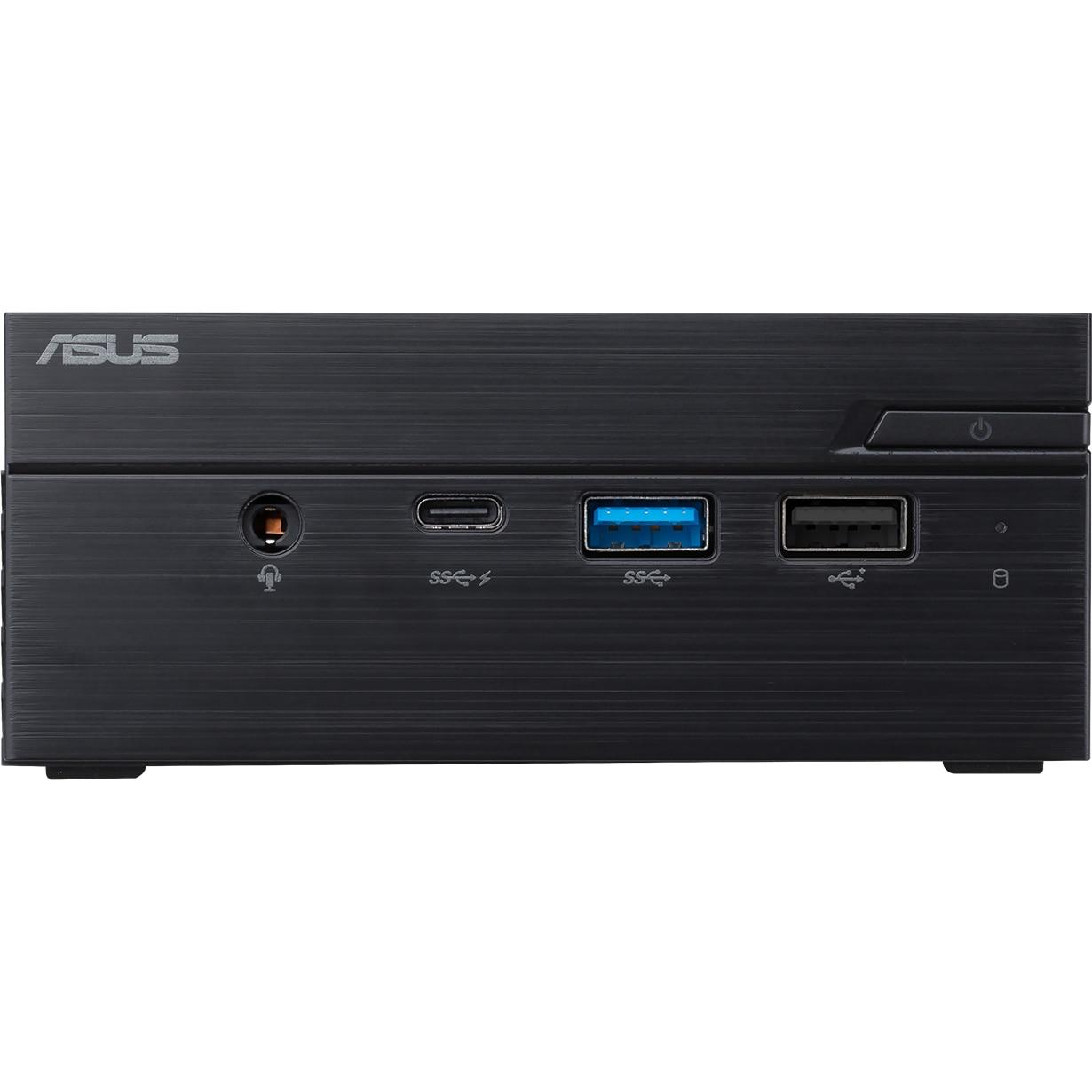 Fotografie Mini PC ASUS Ultracompact PN60 cu procesor Intel® Core™ i3-8130U pana la 3.40 GHz, Kaby Lake, 2 x DDR4, no HDD, Intel® UHD Graphics 620, Free DOS