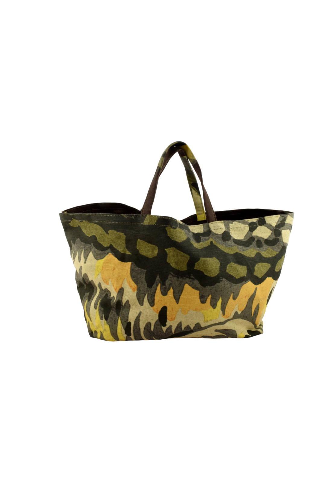Niarvi női táska, kézzel festett bőr, mező mintás eMAG.hu