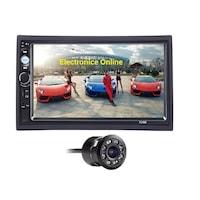Mp5 player auto 7010B, Rama, Bluetooth, Navigatie MirrorLink, Camera marsarier