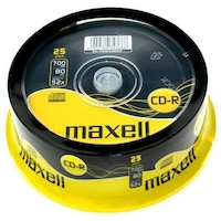 Maxell CD-R 700 MB, 52x, 25 db
