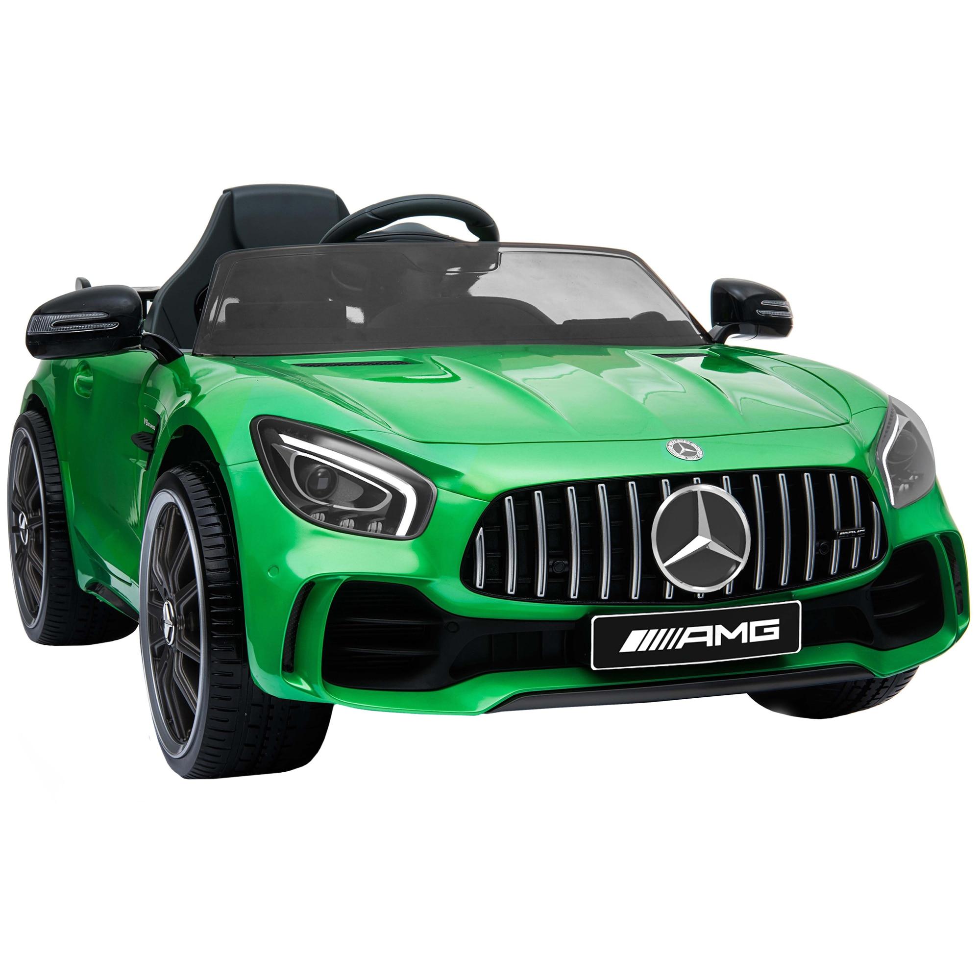 Fotografie Masinuta electrica pentru copii, Mappy Mercedes Benz GTR, Verde