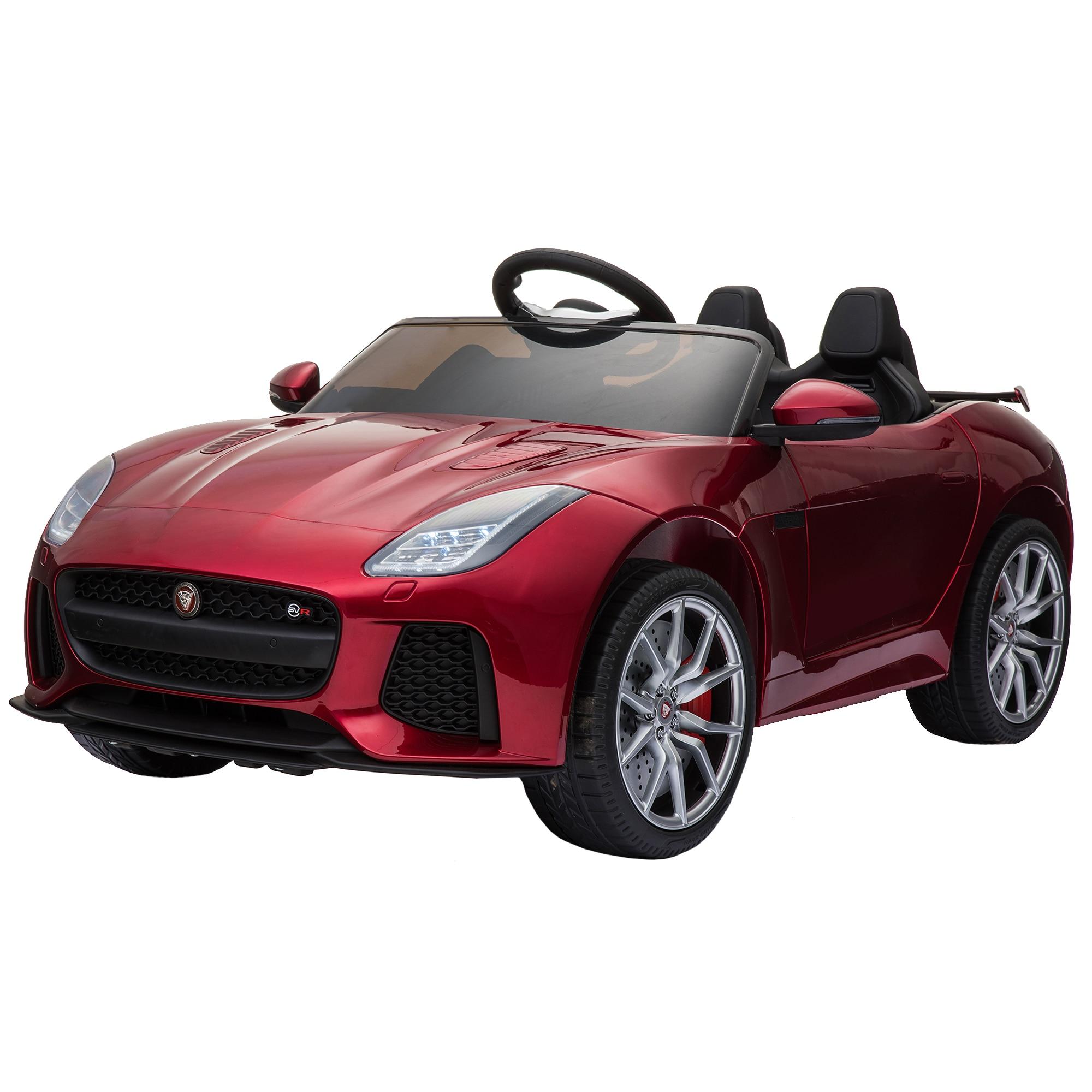 Fotografie Masinuta electrica pentru copii, Mappy Jaguar F-Type, Rosu