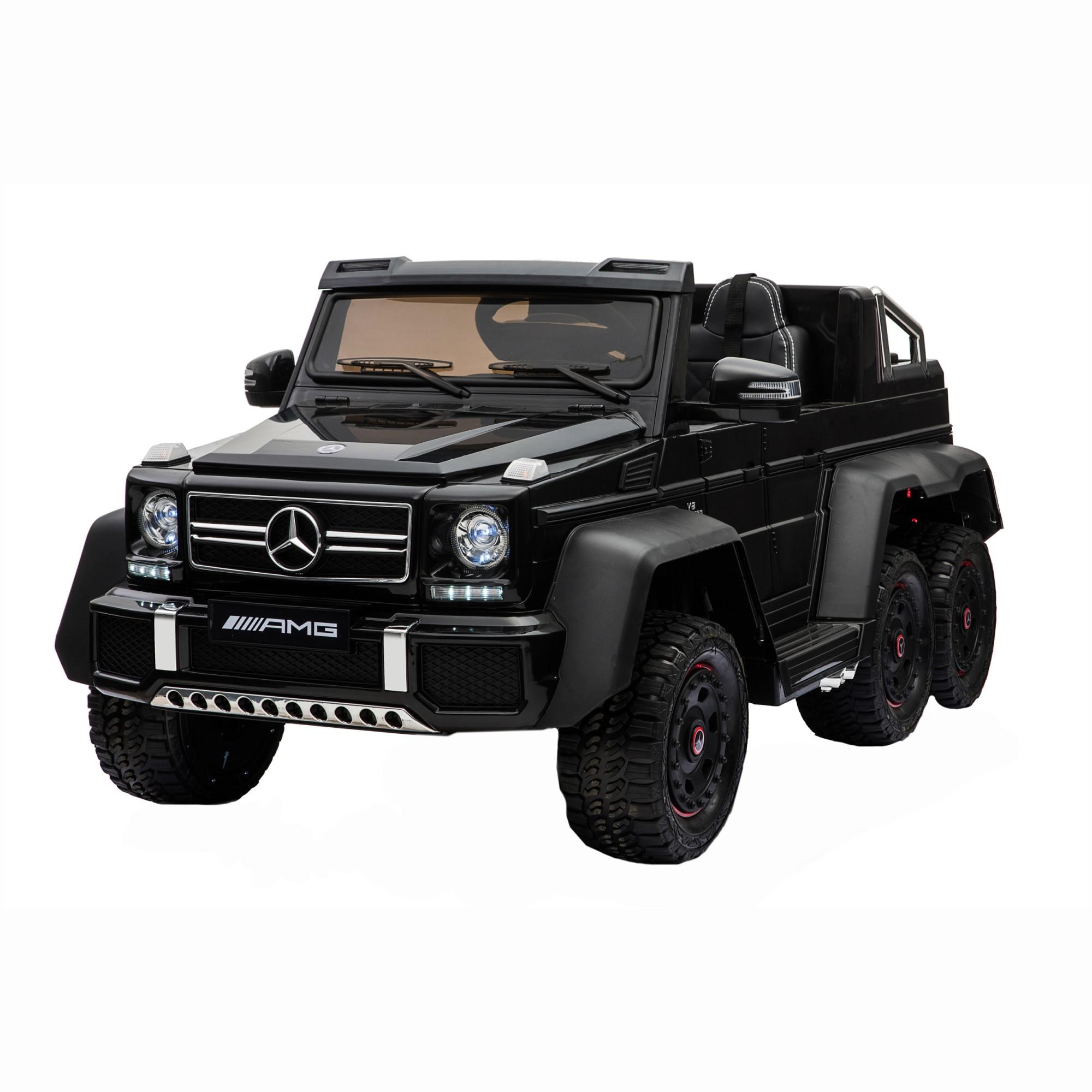 Fotografie Masinuta electrica pentru copii, Mappy Mercedes Benz, Negru