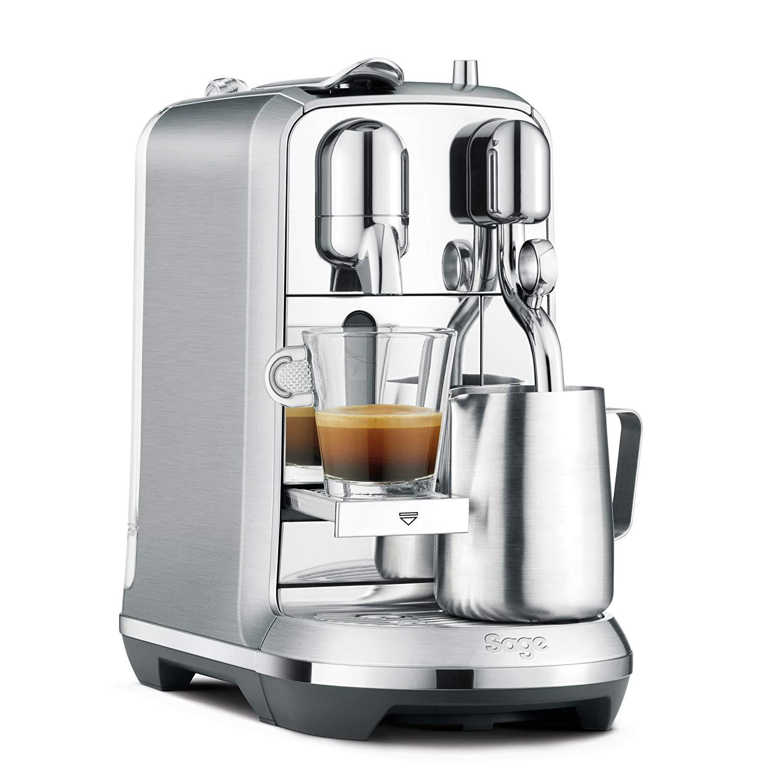 Nespresso Pixie Espresso Machine by Breville with Aeroccino