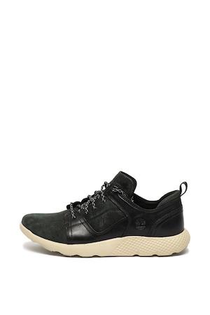 Timberland, Flyroam bőr és nubuk bőr cipő, Fekete/Fehér, 9
