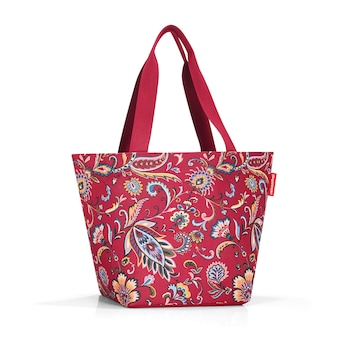 Reisenthel Shopper M paisley ruby női táska