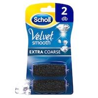 Scholl Velvet Smooth Extra Coarse tartalék, 2 db