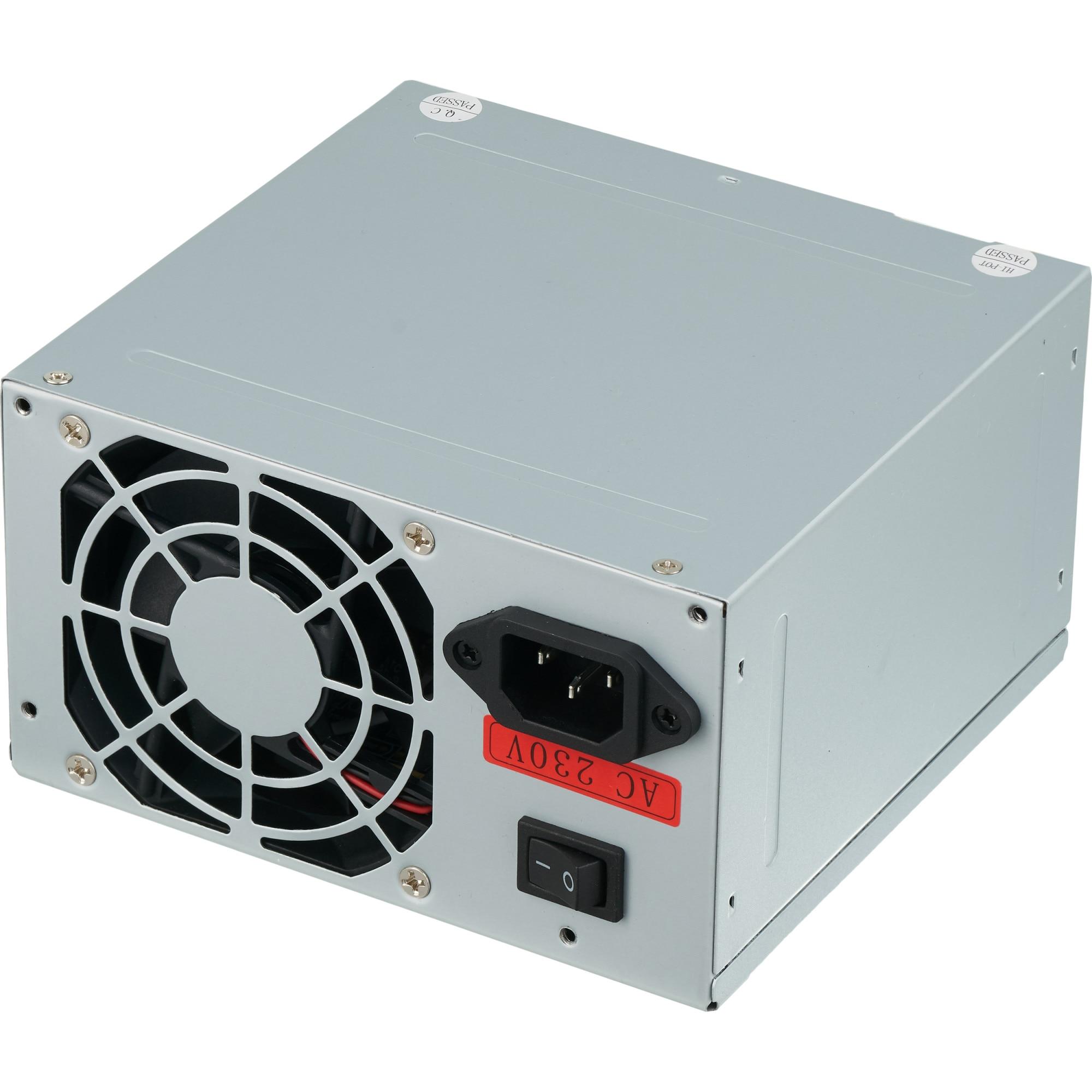 Fotografie Sursa Serioux 450W, Ventilator 8cm, Protecții: OCP/OVP/UVP/SCP/OPP, bulk