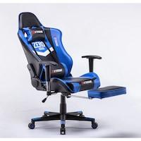 Gamer szék Extreme Zero Blue, szintetikus bőr