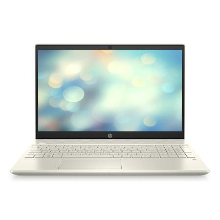 Лаптоп HP Pavilion 15-cs3044nu с Intel Core i5-1035G1 (1.0/3.6 GHz, 6M), 8 GB, 512GB M.2 NVMe SSD, NVIDIA MX250 2 GB GDDR5, Free DOS, златист