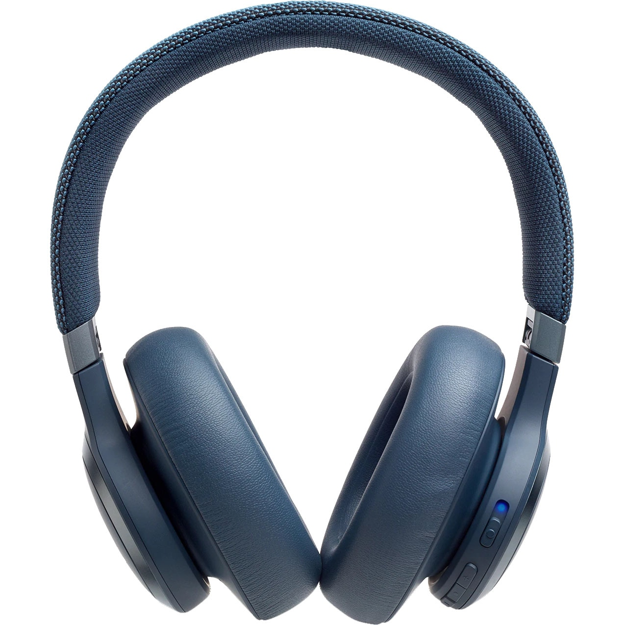 Fotografie Casti Audio Over the Ear JBL Live 650, Wireless, Bluetooth, Noise cancelling, Autonomie 30 ore, Albastru