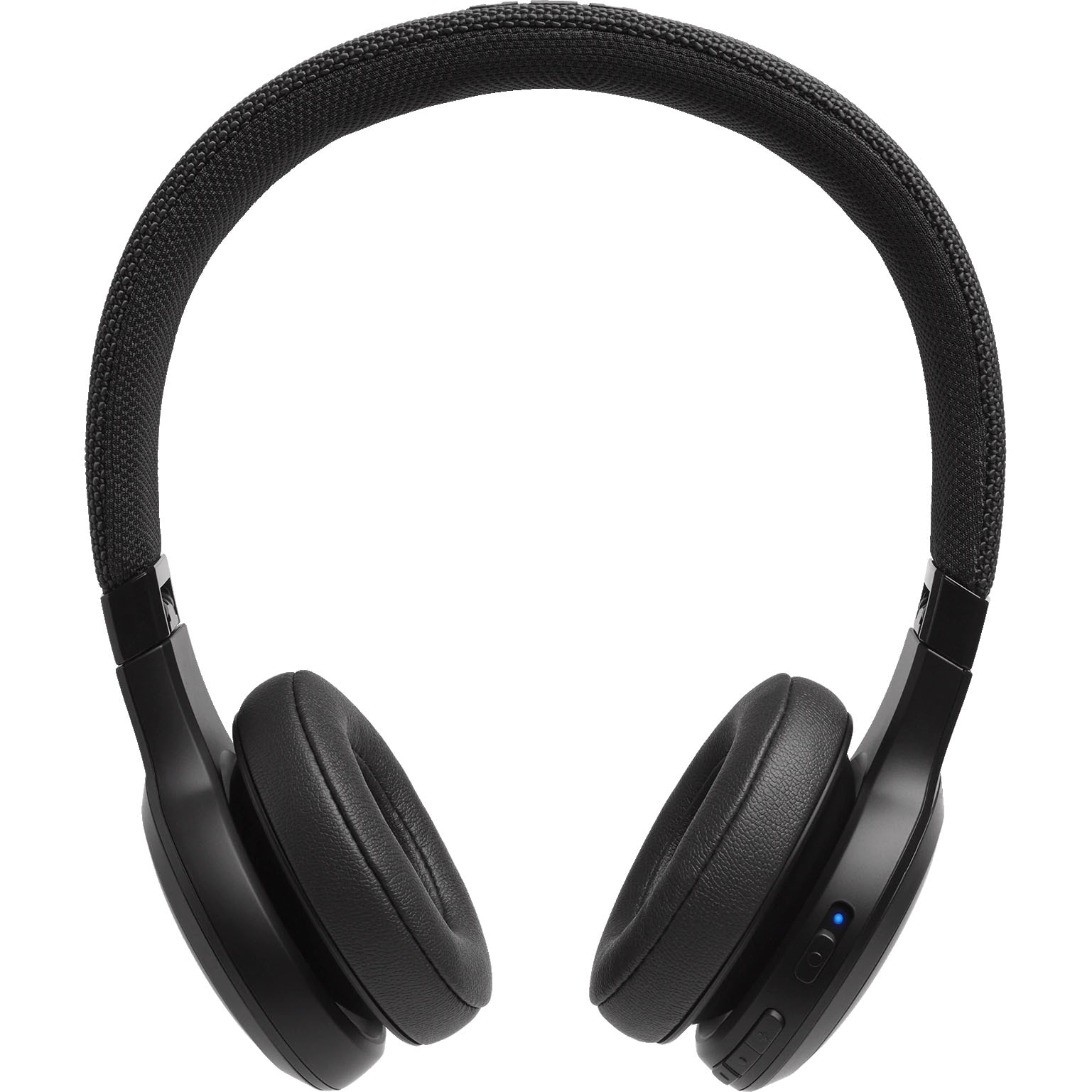 Fotografie Casti On-Ear JBL LIVE400BT, JBL Signature Sound, Voice Assistant, Bluetooth Wireless, TalkThru Technology, Hands-free calls, 24h playback, negru