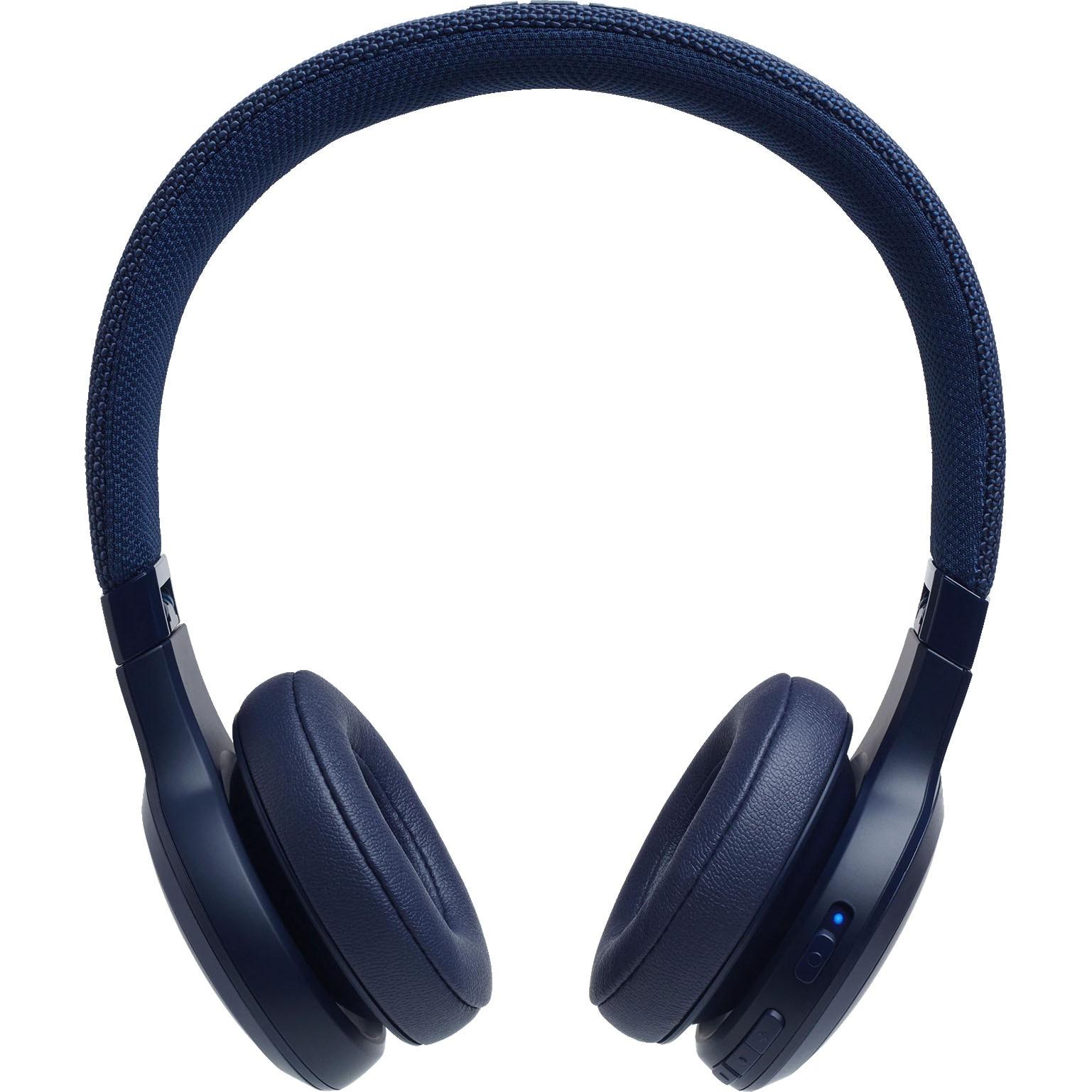 Fotografie Casti On Ear JBL Live 400, Wireless, Bluetooth, Autonomie 24 ore, Albastru