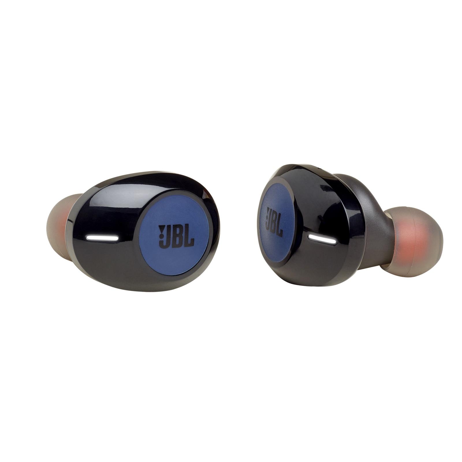 Fotografie Casti In-Ear True Wireless JBL Tune 120TWS, JBL Pure Bass Sound, Bluetooth Wireless, Hands-free Stereo Calls, 16h playback, Albastru
