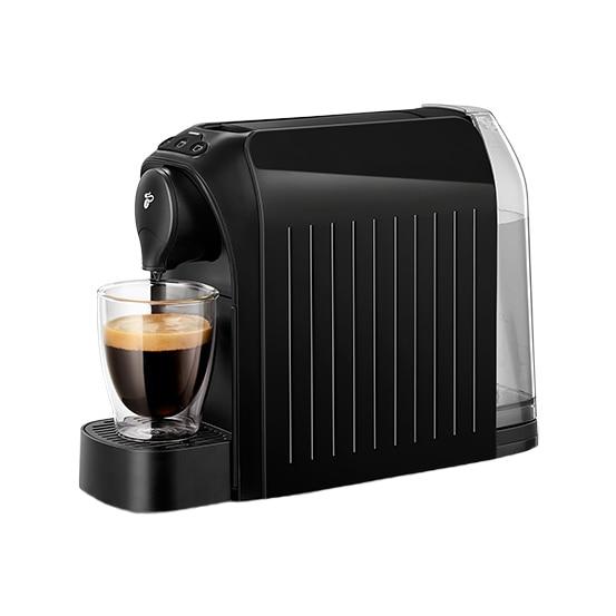 Fotografie Espressor Tchibo Cafissimo easy Black, 1250 W, 3 presiuni, 650 ml, Espresso, Caffe Crema, sertar capsule, Negru