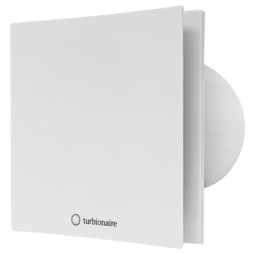 Fotografie Ventilator baie Turbionaire ARTE 100 TW, Alb, timer, clapeta antiretur, aspiratie perimetrala, IPX4, 100 mm, Alb
