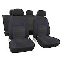Pok-Ter, Opel Astra H utángyártott üléshuzat,Textil - Kék (POKPT789)