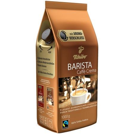 Cafea boabe Tchibo Barista Caffe Crema, 1 Kg.