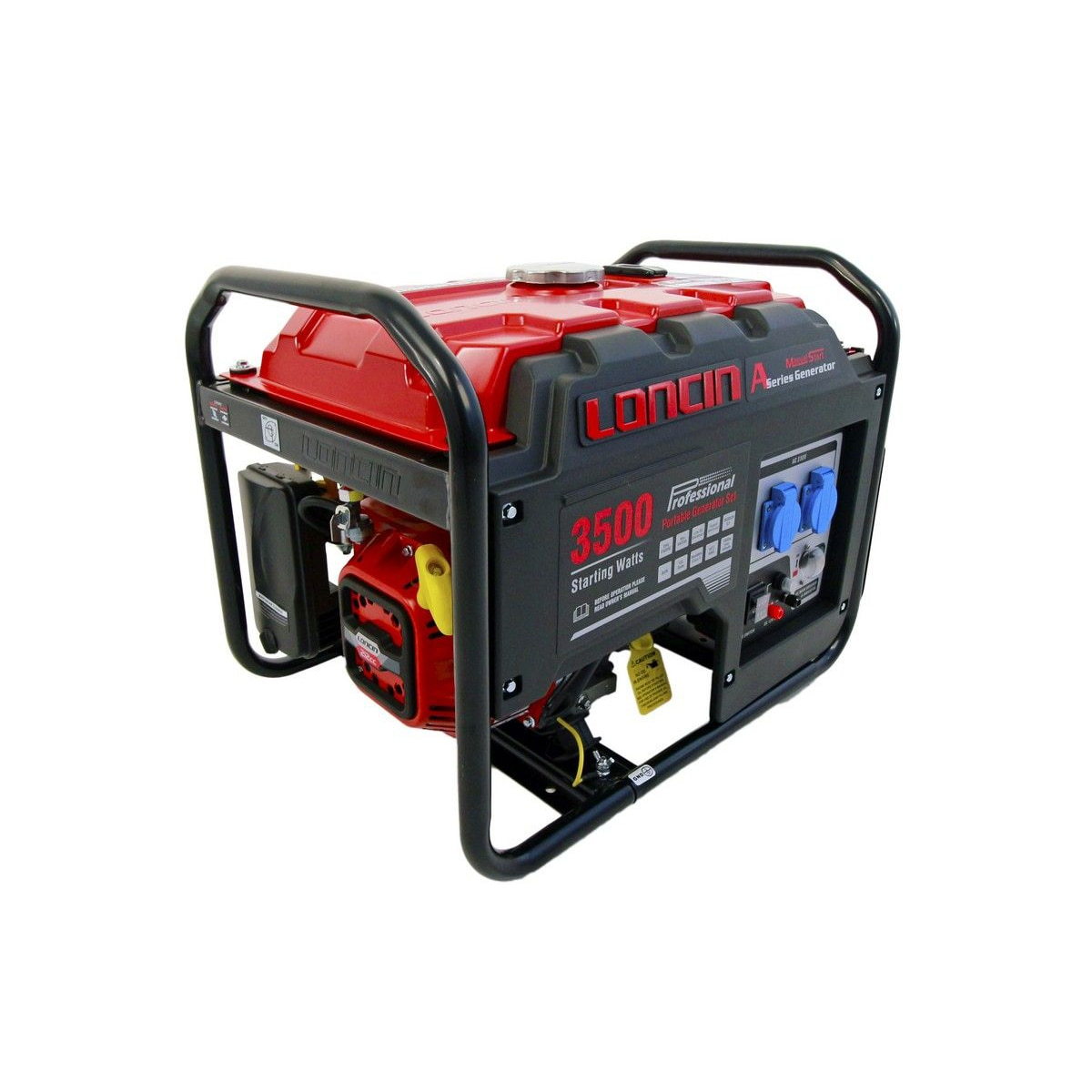 Fotografie Generator curent electric Loncin A series, 3100W, 220V, benzina