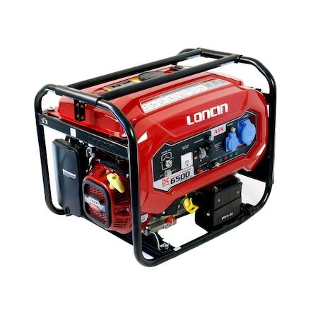 Generator curent electric Loncin A series cu automatizare , 5500W, 220V, benzina