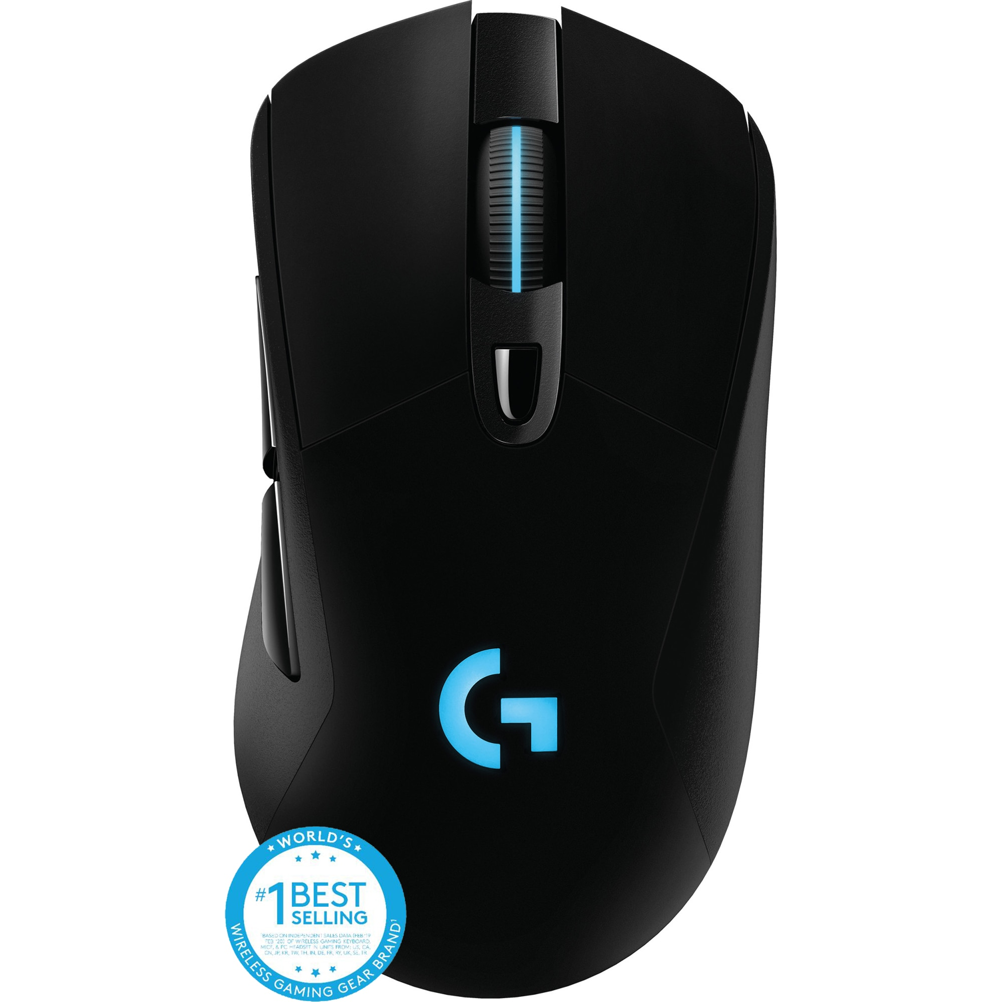 Fotografie Mouse gaming wireless Logitech G703 LightSpeed Hero 16K DPI, Negru