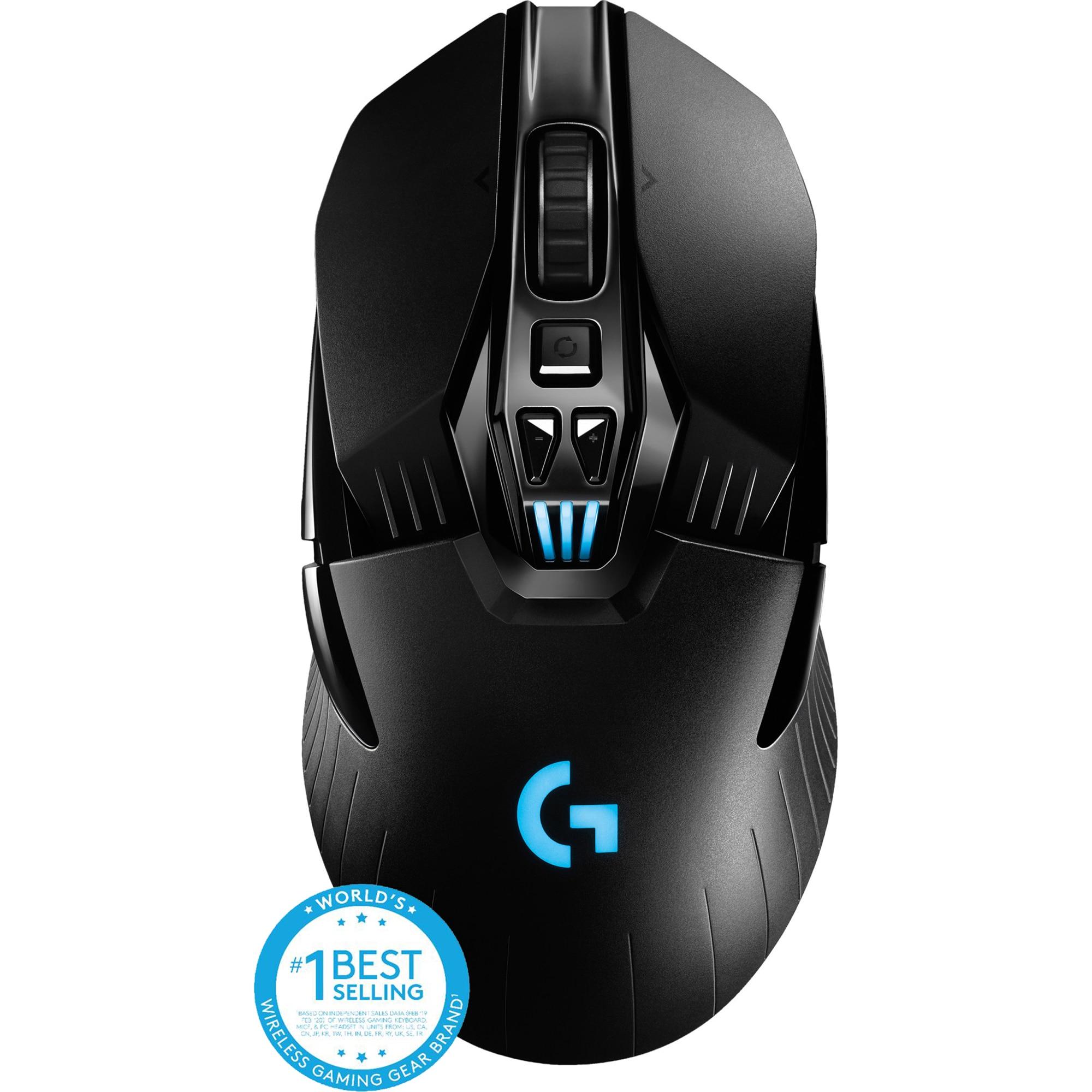 Fotografie Mouse gaming wireless Logitech G903 LightSpeed Hero 16K DPI, Negru
