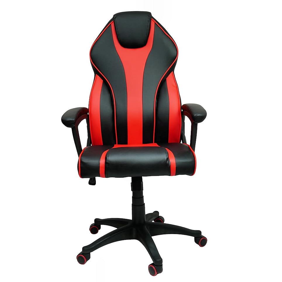 Zenga Deus Cobra Gamer Szék Műbőr Fekete Piros Max. súly: 120 kg