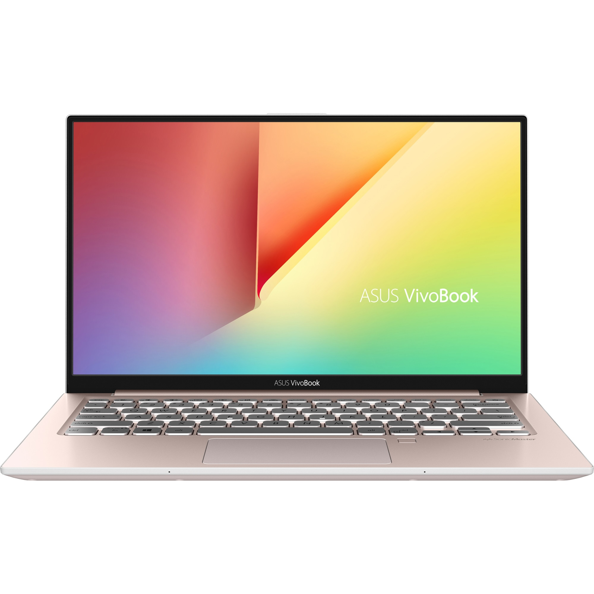 "Fotografie Laptop Asus S330FA cu procesor Intel® Core™ i5-8265U pana la 3.9GHz, 13.3"", Full HD, 8GB, 512GB SSD M.2, Intel UHD Graphics 620, Free DOS, Pink Metal"