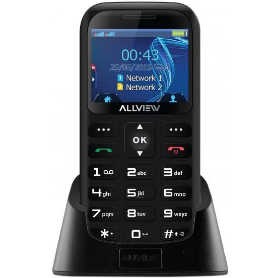 Fotografie Telefon mobil Allview D2 Senior, Dual SIM, Black