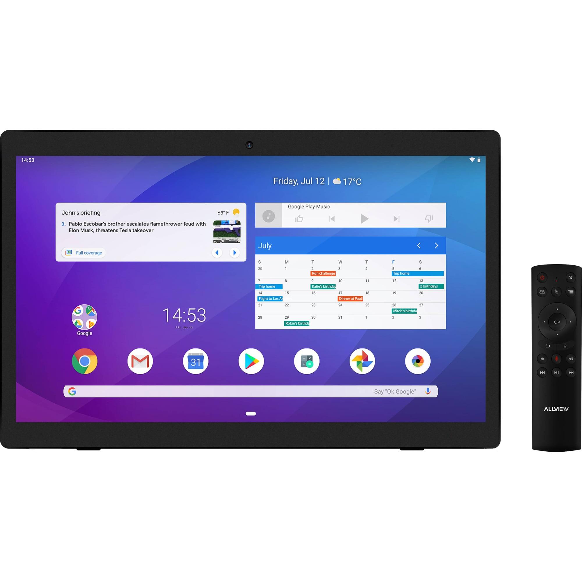 "Fotografie Tableta Allview Viva Home, Quad-Core, 17.3"", 2GB RAM, 32GB, Wi-Fi, Black"