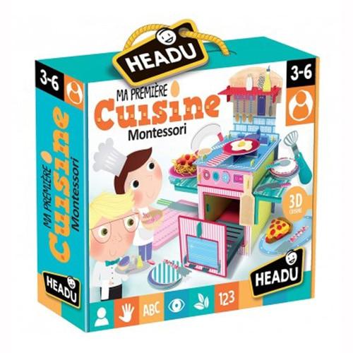 Fotografie Puzzle 3D Headu Montessori - Prima mea bucatarie