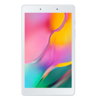 "Samsung Galaxy Tab A T290 tablet, Snapdragon 429 Quad-Core 4 x 2 GHz processzorral, 8.0"" TFT HD, 2GB RAM, 32GB, 8 MP, Wi-Fi, Android 9.0, Ezüst"