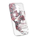 Силиконов калъф Unique за LG K8, Skull, 253